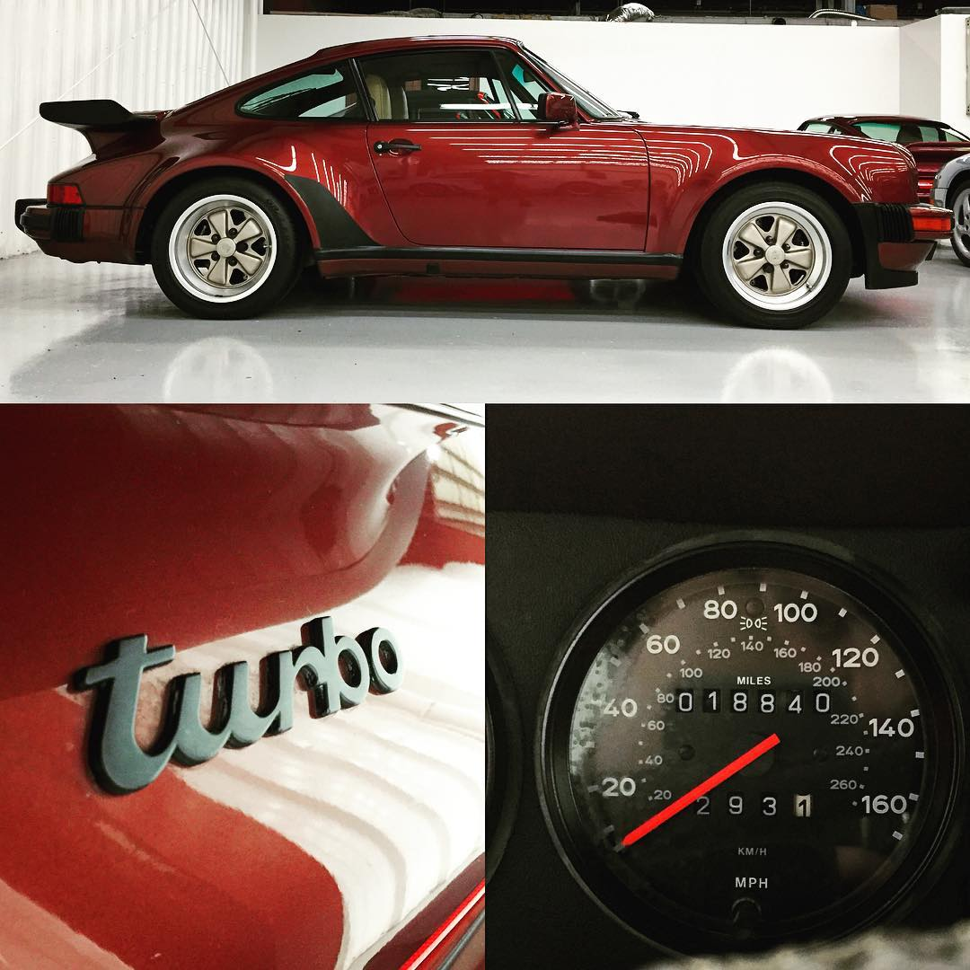 1986 930 Garnet Red with only 18840 miles turbotuesday