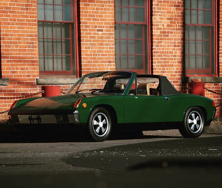 Love these little cars! 1970 9146 Irish Green over Tanhellip
