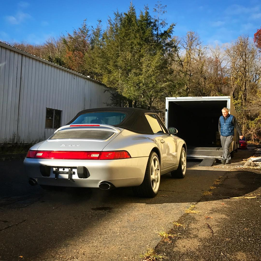 Sold!! 1998 993 C4 Cabriolet  less than 150 builthellip