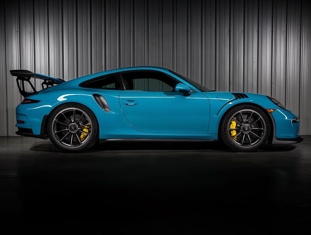 tbt Miami Blue GT3RS