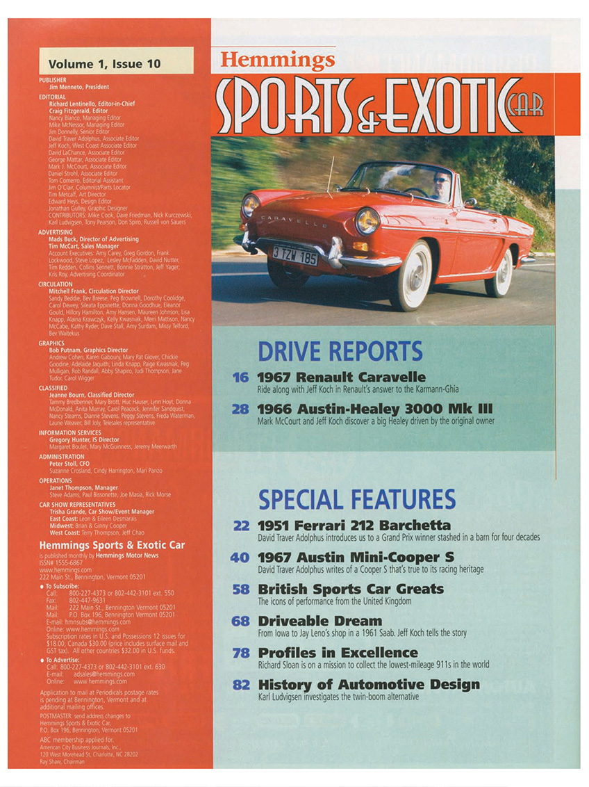 Hemmings Sports & Exotic Car Page 2