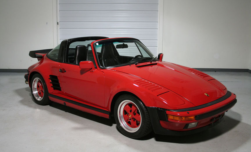 1988 Porsche 930 Targa Slant Nose Guards 20 758 Miles Sloan Cars