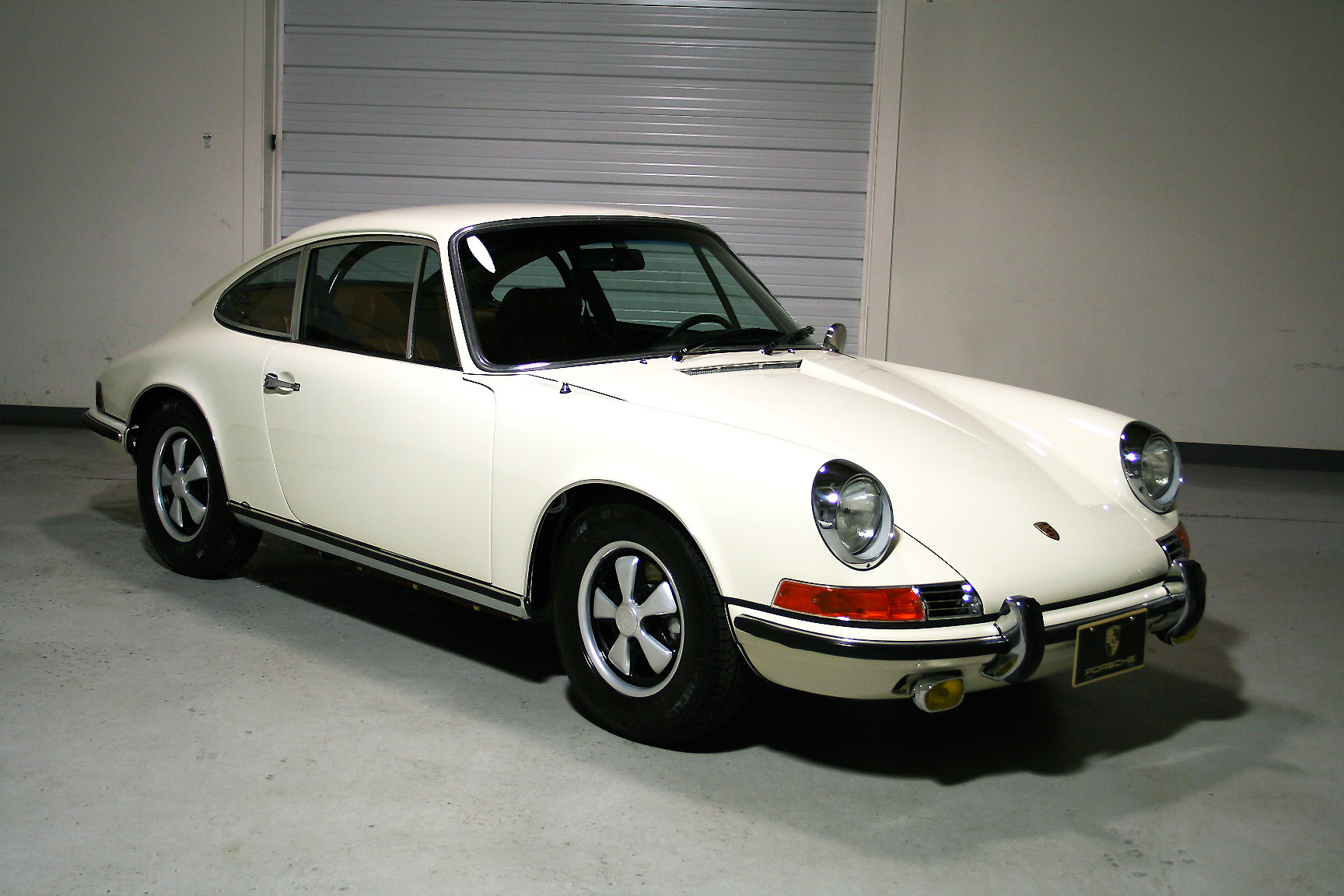 1969 911 E Coupe White Light Grey Restored Sloan Cars