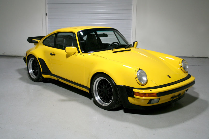 1989 Porsche 930 Pts Ferrari Fly Yellow 62 036 Miles