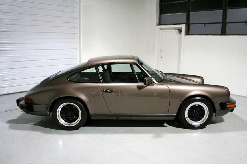 1984 Porsche 911 Carrera Coupe Quartz Grey Metallic