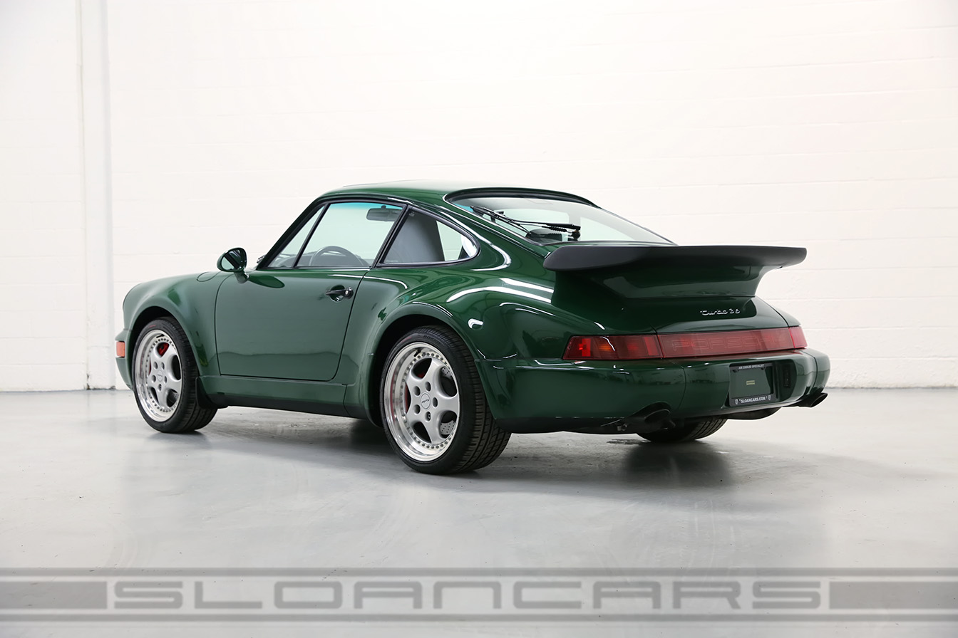 1994 Porsche 964 3 6 Turbo Paint To Sample Irish Green
