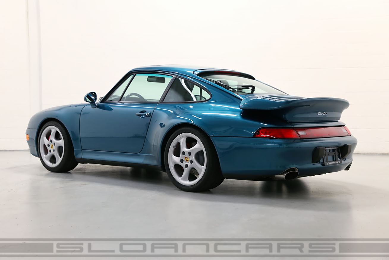 1996 993 Twin Turbo Turquoise Blue 23 687 Miles Sloan Cars