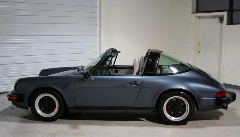 1987 porsche 911 carrera targa 39 588 miles sloan cars. Black Bedroom Furniture Sets. Home Design Ideas