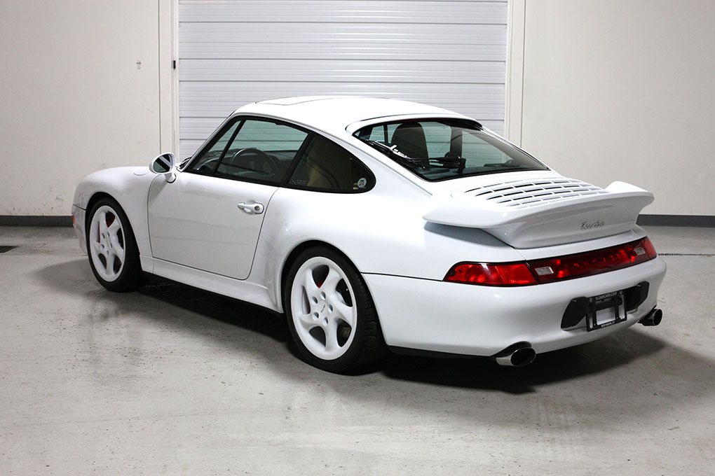 1997 Porsche 993 Twin Turbo 18 388 Miles Sloan Cars