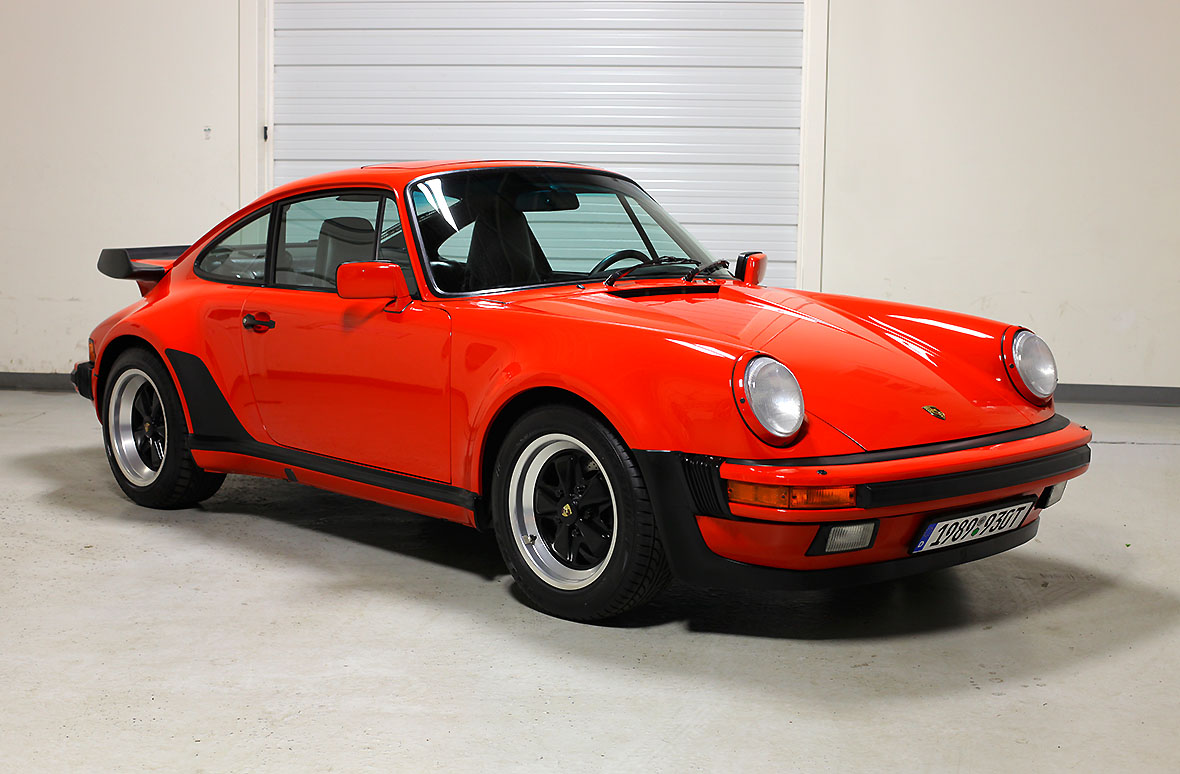 1989 Porsche 911 Turbo Coupe Guards Red 20 349 Miles