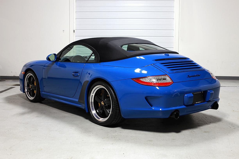 2011 Porsche 997 Speedster Pure Blue 26 Miles Sloan Cars