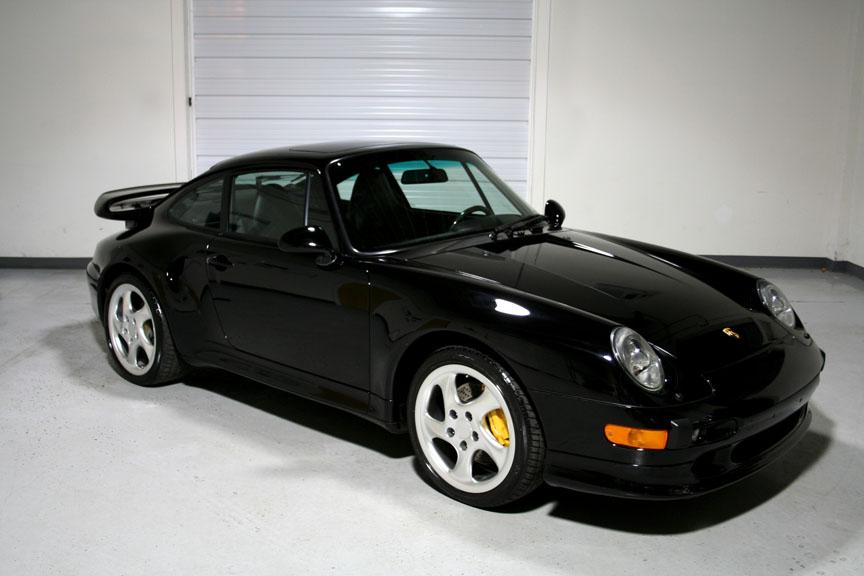 1997 porsche 993 turbo s black black 9 710 miles sloan cars. Black Bedroom Furniture Sets. Home Design Ideas