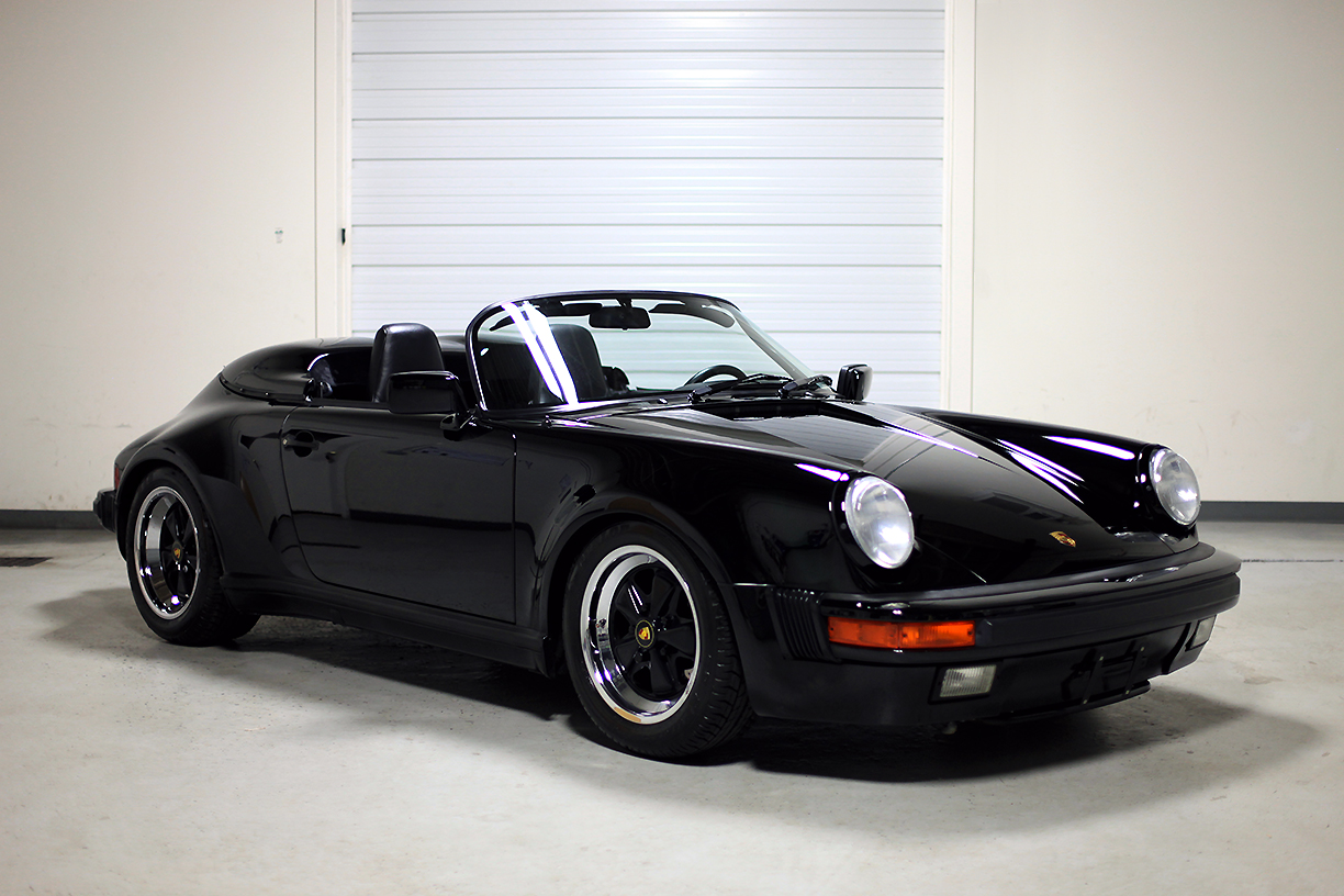 Porsche 959 For Sale >> 1989 Porsche 911 Speedster Black - 3,357 miles | Sloan Cars