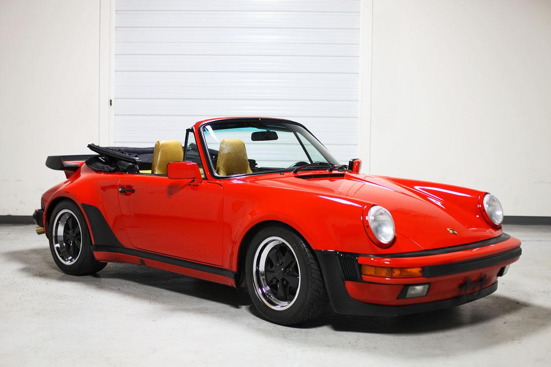 1987 Porsche 911 Carrera Factory Turbo Look Cabriolet
