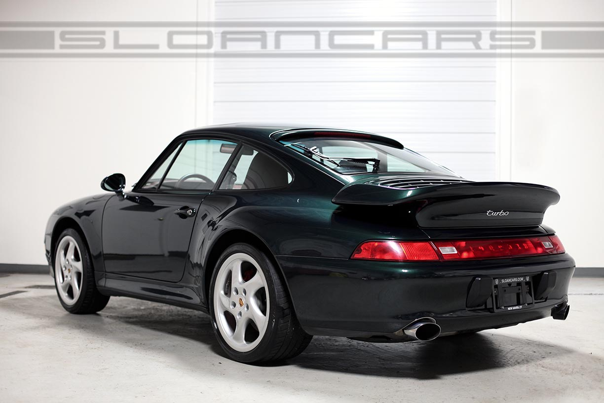 1997 Porsche 993 Twin Turbo 12 302 Miles Sloan Cars
