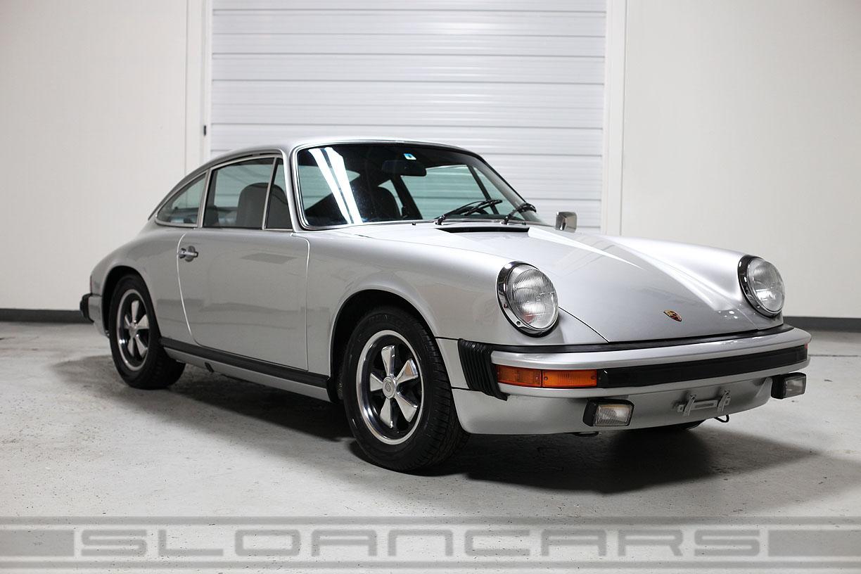 1975 Porsche 911s Coupe Silver Metallic 68 000 Miles