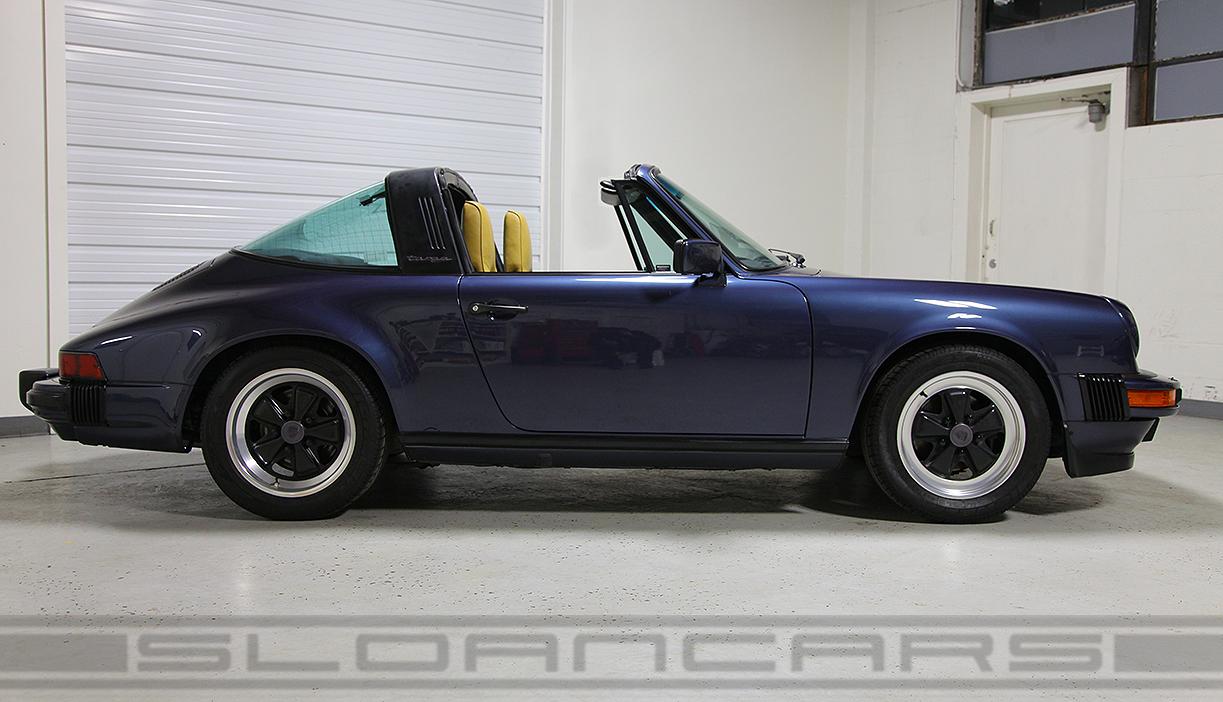 1986 porsche 911 carrera targa prussian blue 60176 miles sloan cars vehicle overview vanachro Gallery