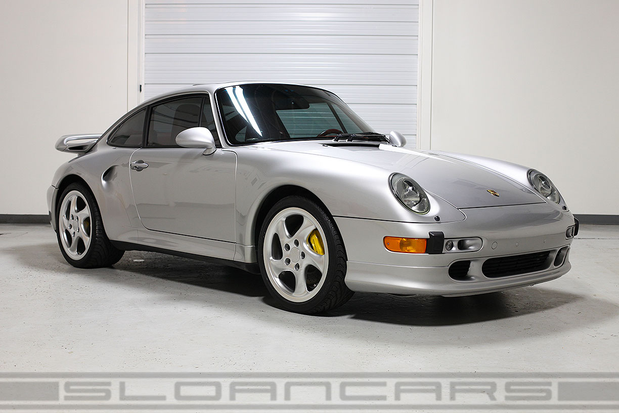 1997 porsche 993 turbo s silver 13 417 miles sloan cars. Black Bedroom Furniture Sets. Home Design Ideas