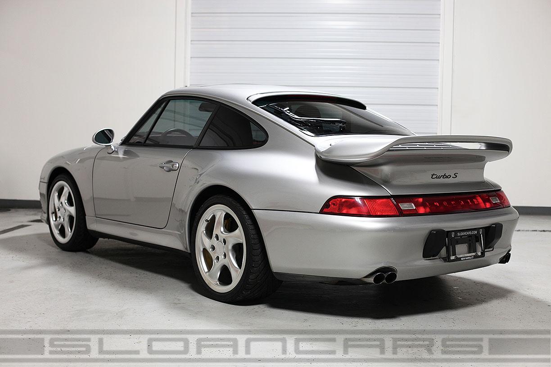 1997 Porsche 993 Turbo S Silver 13 417 Miles Sloan Cars