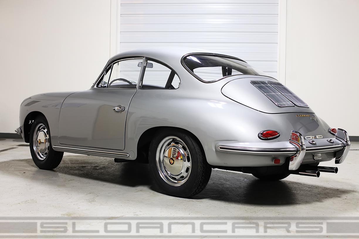 1964 Porsche 356 SC GT Recreation Silver RESTORED | Sloan Cars