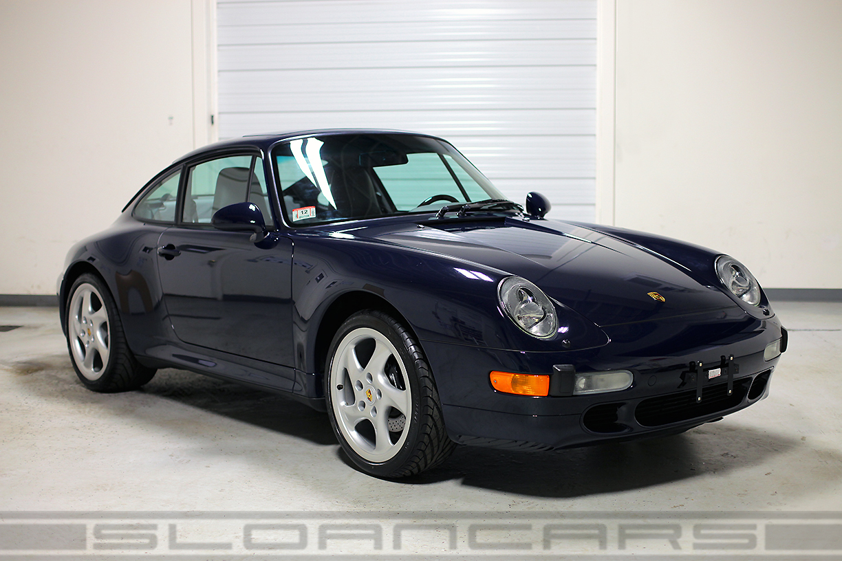 1997 porsche 993 c2s navy blue 12 383 miles sloan cars. Black Bedroom Furniture Sets. Home Design Ideas