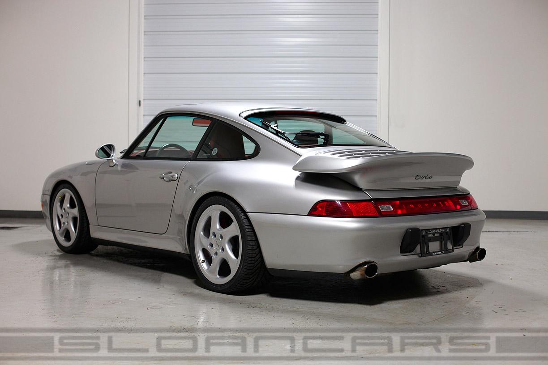 1997 Porsche 993 Twin Turbo Arctic Silver 50 878 Miles