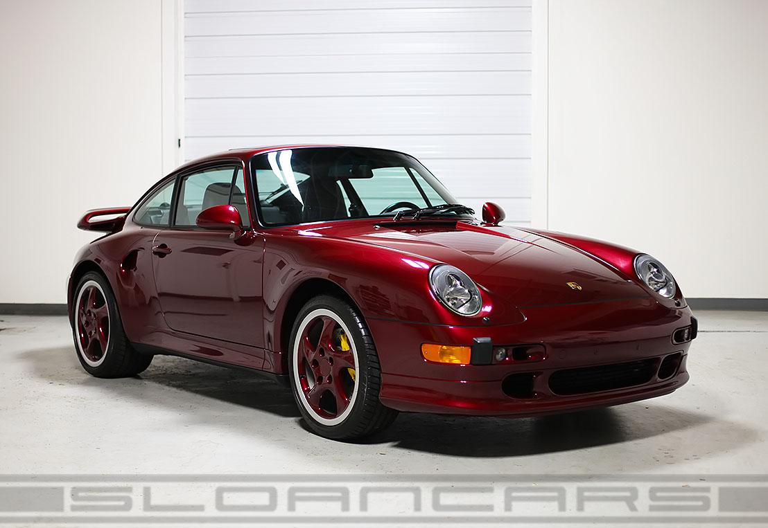 1997 Porsche 993 Turbo S Arena Red 7 085 Miles Sloan Cars