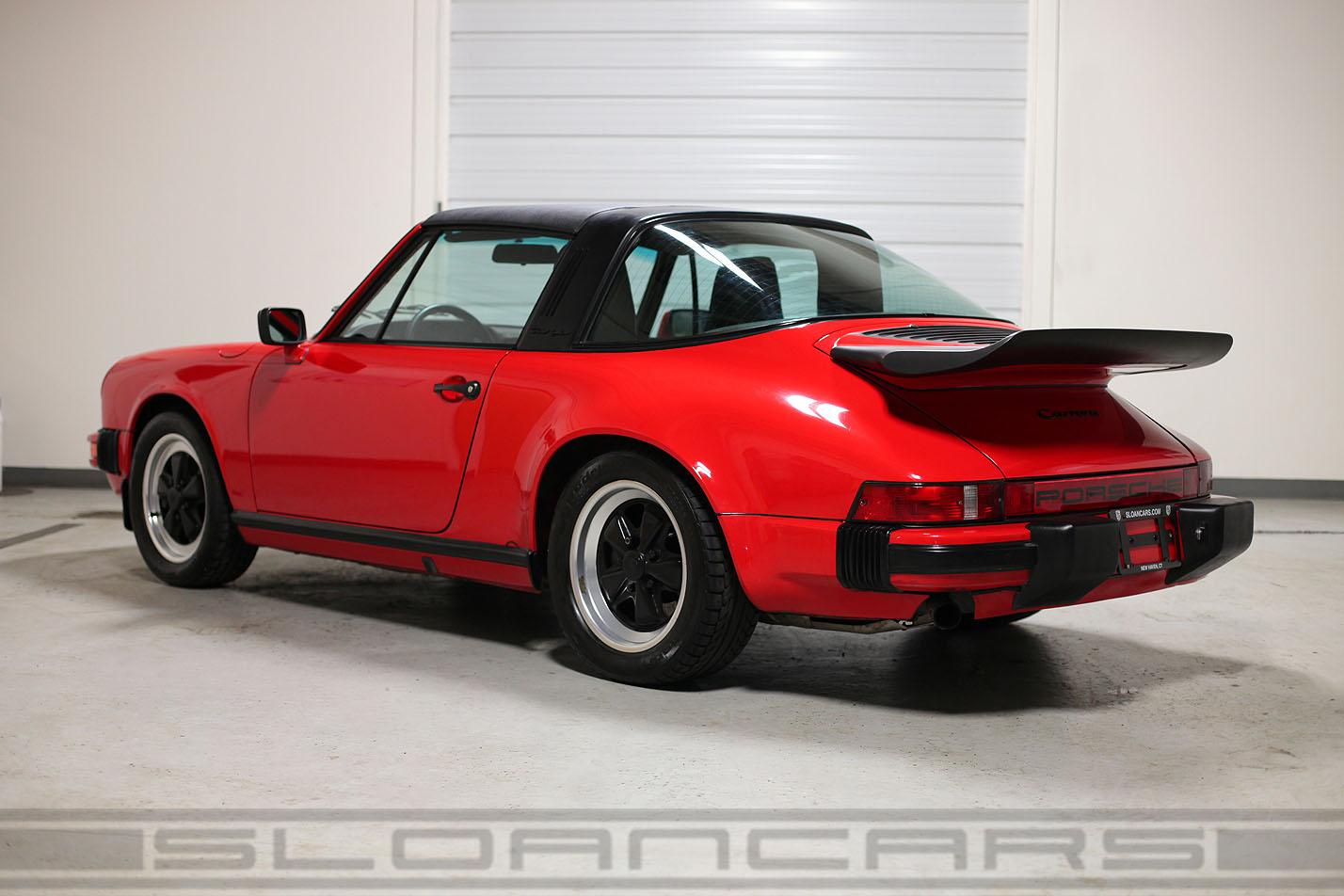 1985 porsche 911 carrera targa 25214 miles sloan cars 1985 911 carrera targa vanachro Gallery