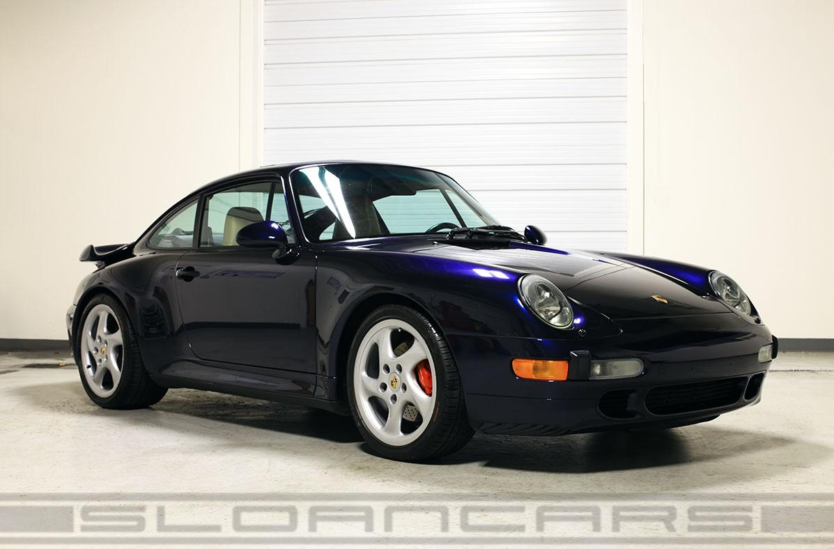 1996 Porsche 993 Twin Turbo Ocean Blue 24 668 Miles
