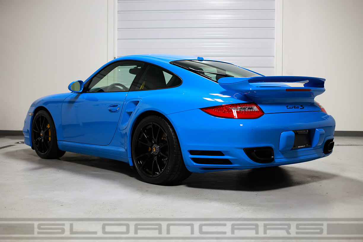 2012 Porsche 997 Twin Turbo S Coupe 1 654 Miles Sloan Cars