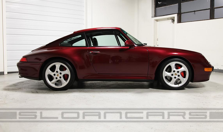 1998 Porsche 993 C4s Coupe 41 187 Miles Sloan Cars