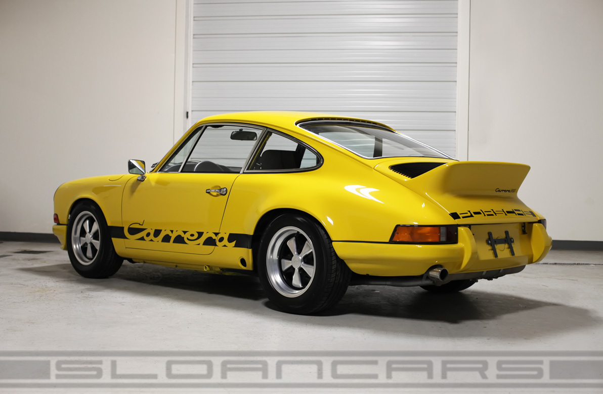 1973 Porsche Carrera RS Tribute Yellow/Black | Sloan Cars