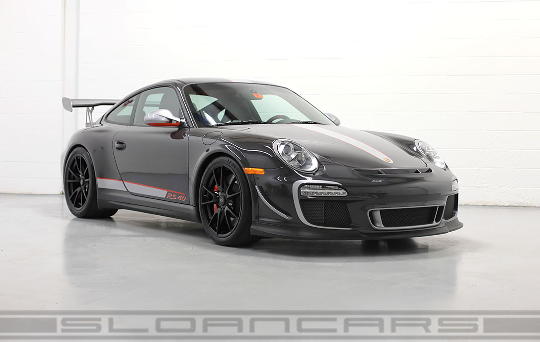 2011 Porsche Gt3rs 4 0 Paint To Sample Gray Black 1 974