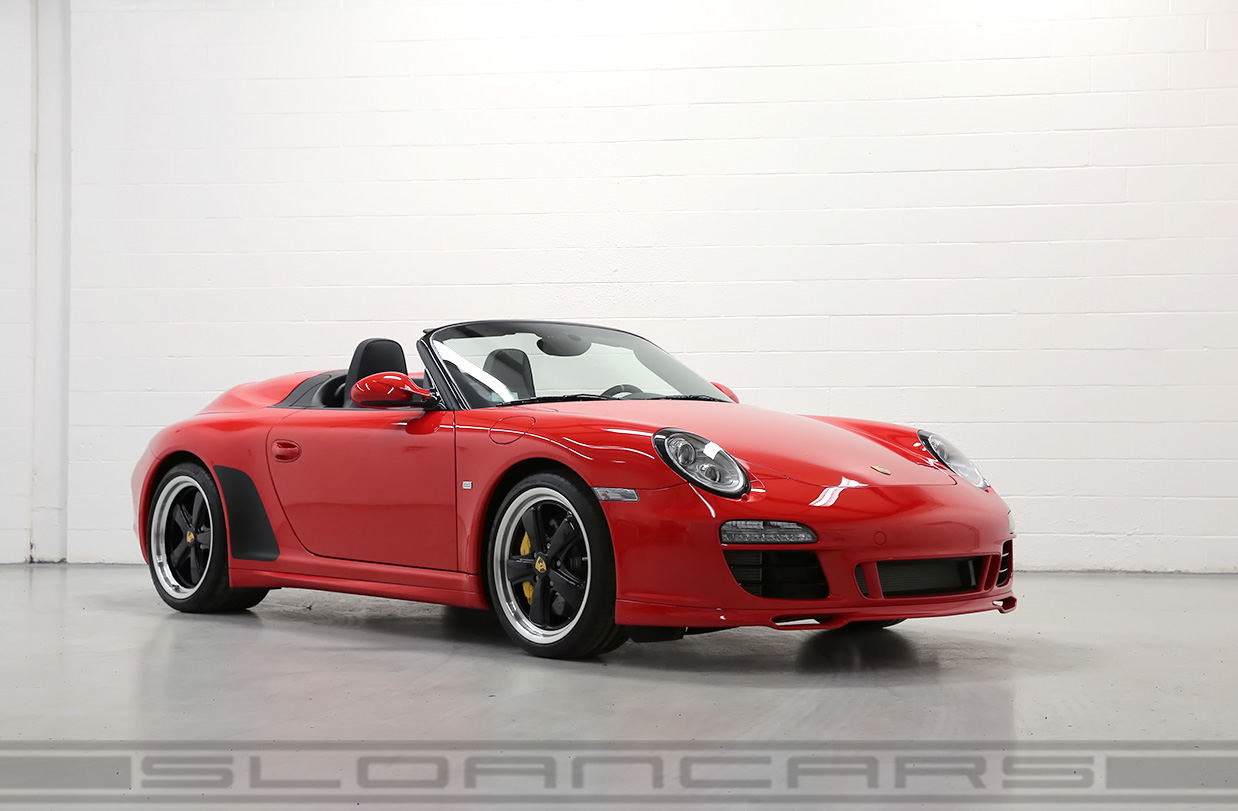 2011 Porsche 997 Speedster Guards Red 3 760 Miles Sloan Cars