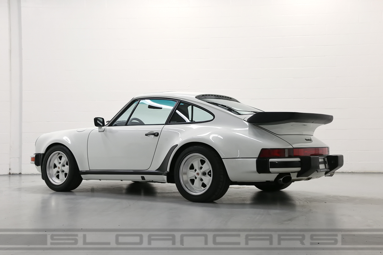 1989 porsche 911 turbo grand prix white 36 189 miles sloan cars. Black Bedroom Furniture Sets. Home Design Ideas