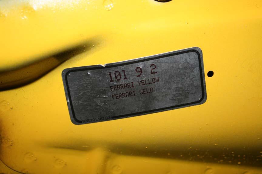 ferrari gelg - porsche giallo ferrari