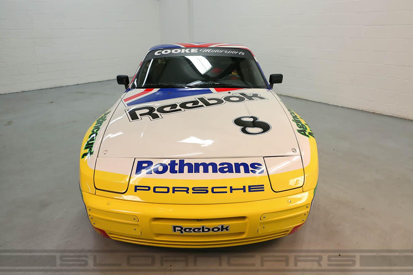 1987 porsche 944 turbo rothmans cup car sloan cars. Black Bedroom Furniture Sets. Home Design Ideas