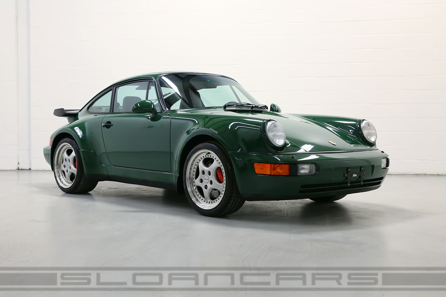 1994 Porsche 964 3.6 Turbo Paint-to-Sample Irish Green