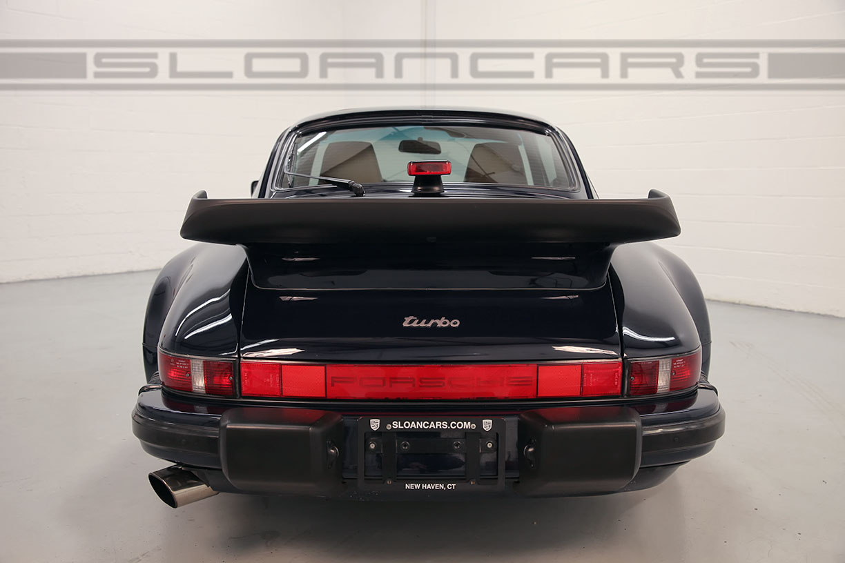 1987 Porsche 911 Turbo Navy Tan 56 256 Miles Sloan Cars