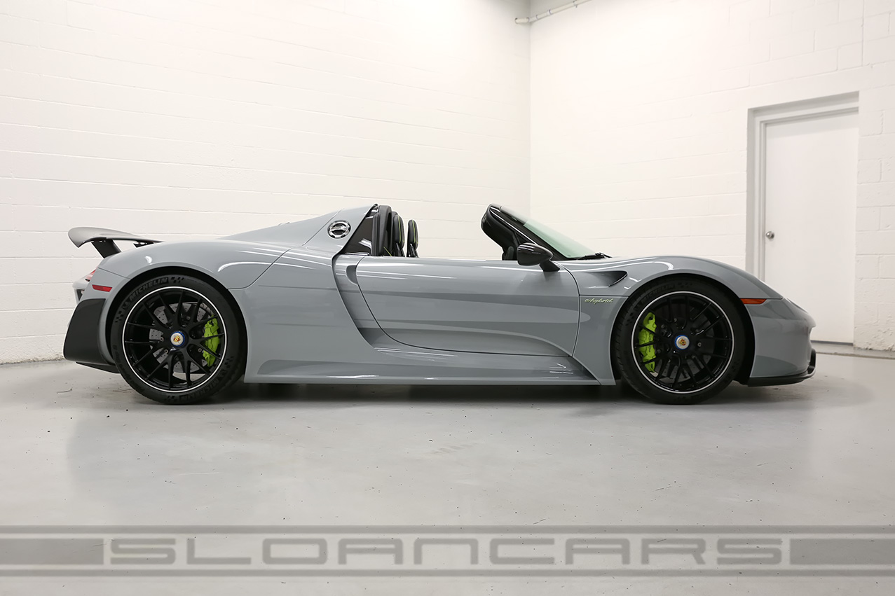 2015 918 Spyder Weissach Package