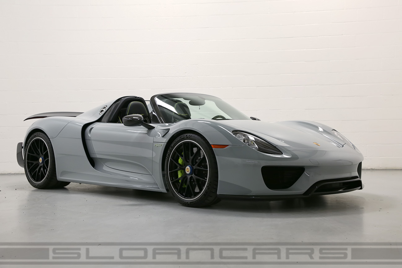 Genial 2015 918 Spyder Weissach Package