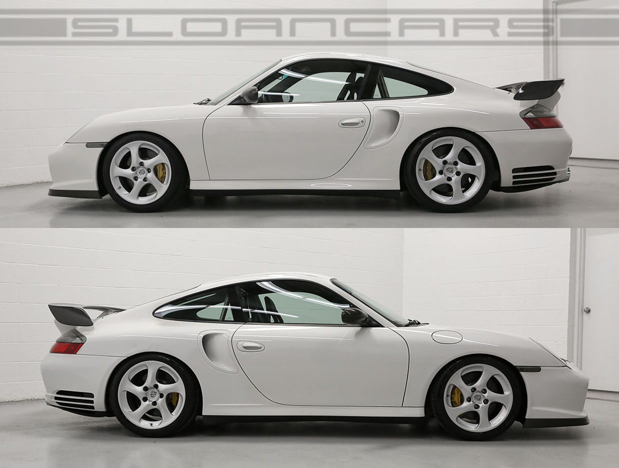2002 porsche gt2 coupe grand prix white 1 623 miles sloan cars. Black Bedroom Furniture Sets. Home Design Ideas