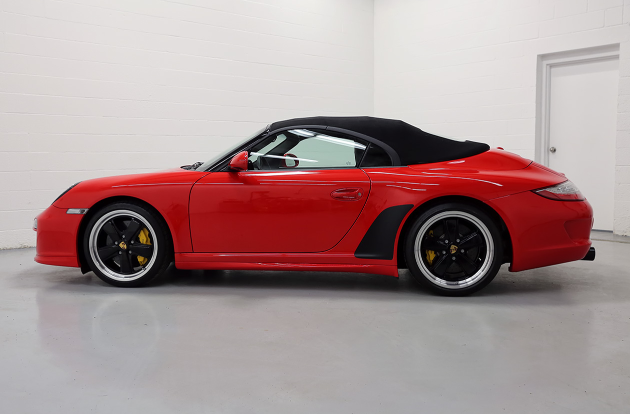 2011 Porsche 997 Speedster Guards Red 3 760 Miles Sloan Cars