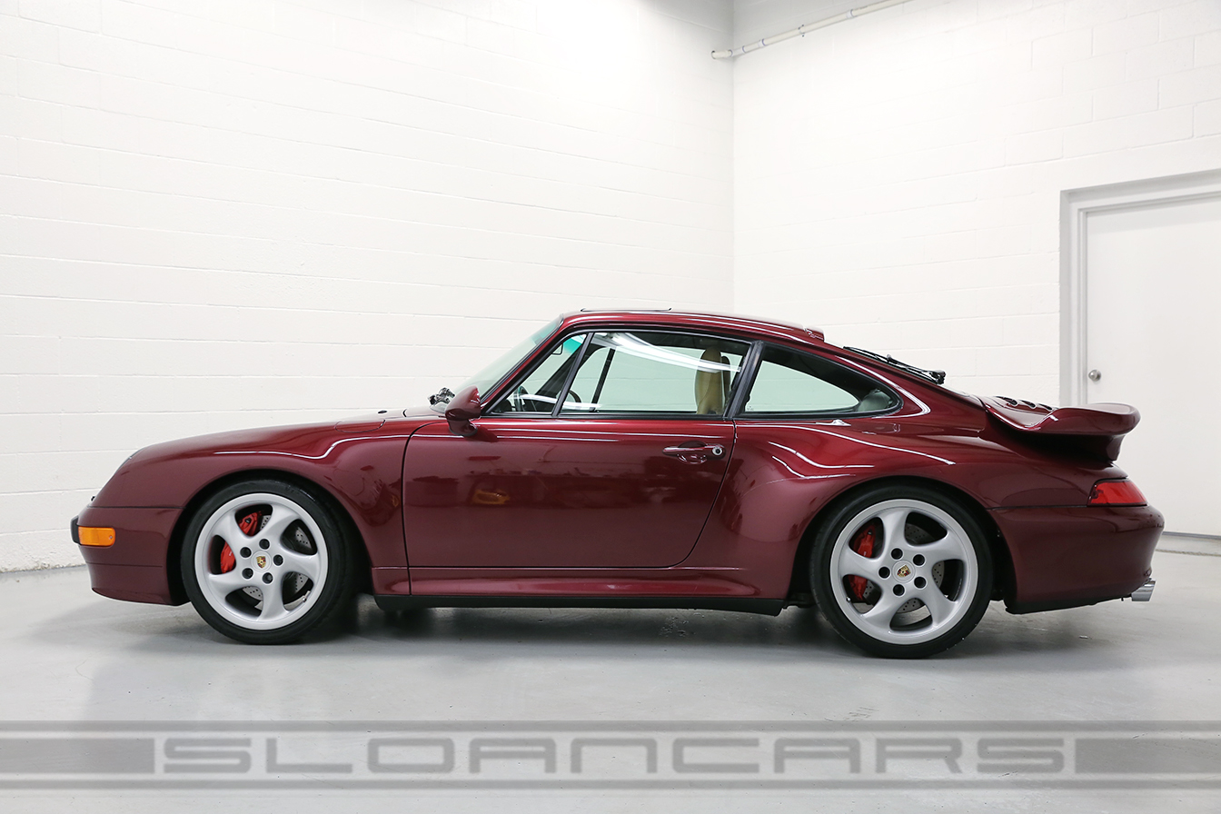 1997 Porsche 993 Turbo Arena Red 28 974 Miles Sloan Cars