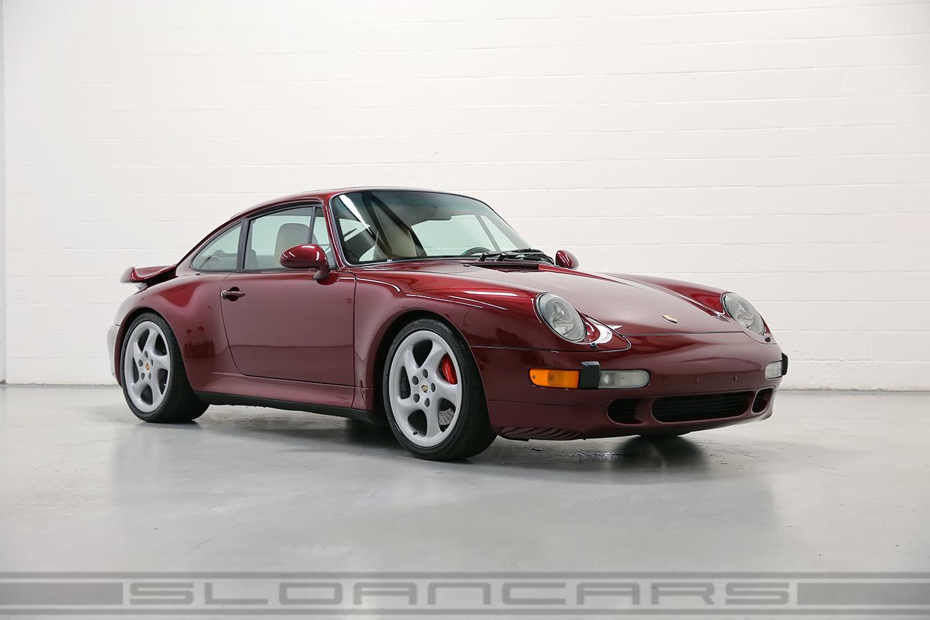 1997 Porsche 993 Turbo Arena Red 28 974 Miles Sloan Cars