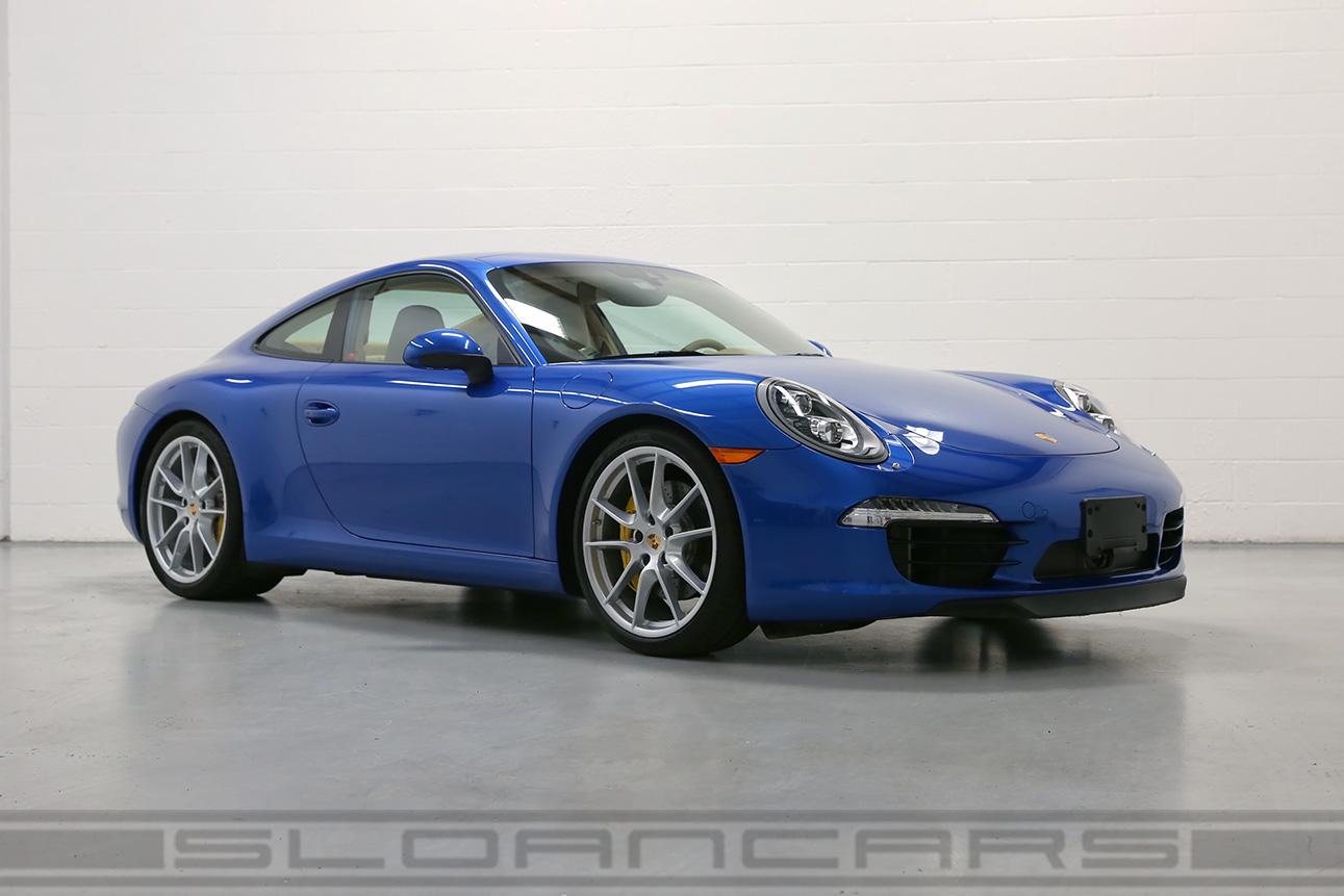 2014 Porsche 991 Carrera S Sapphire Blue 1 955 Miles