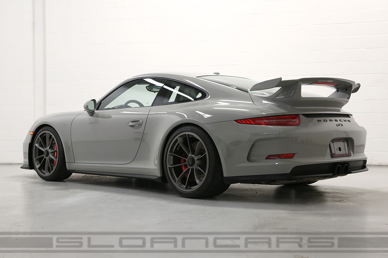 2015 Porsche 991 Gt3 Pts Fashion Gray Black 2 158 Miles
