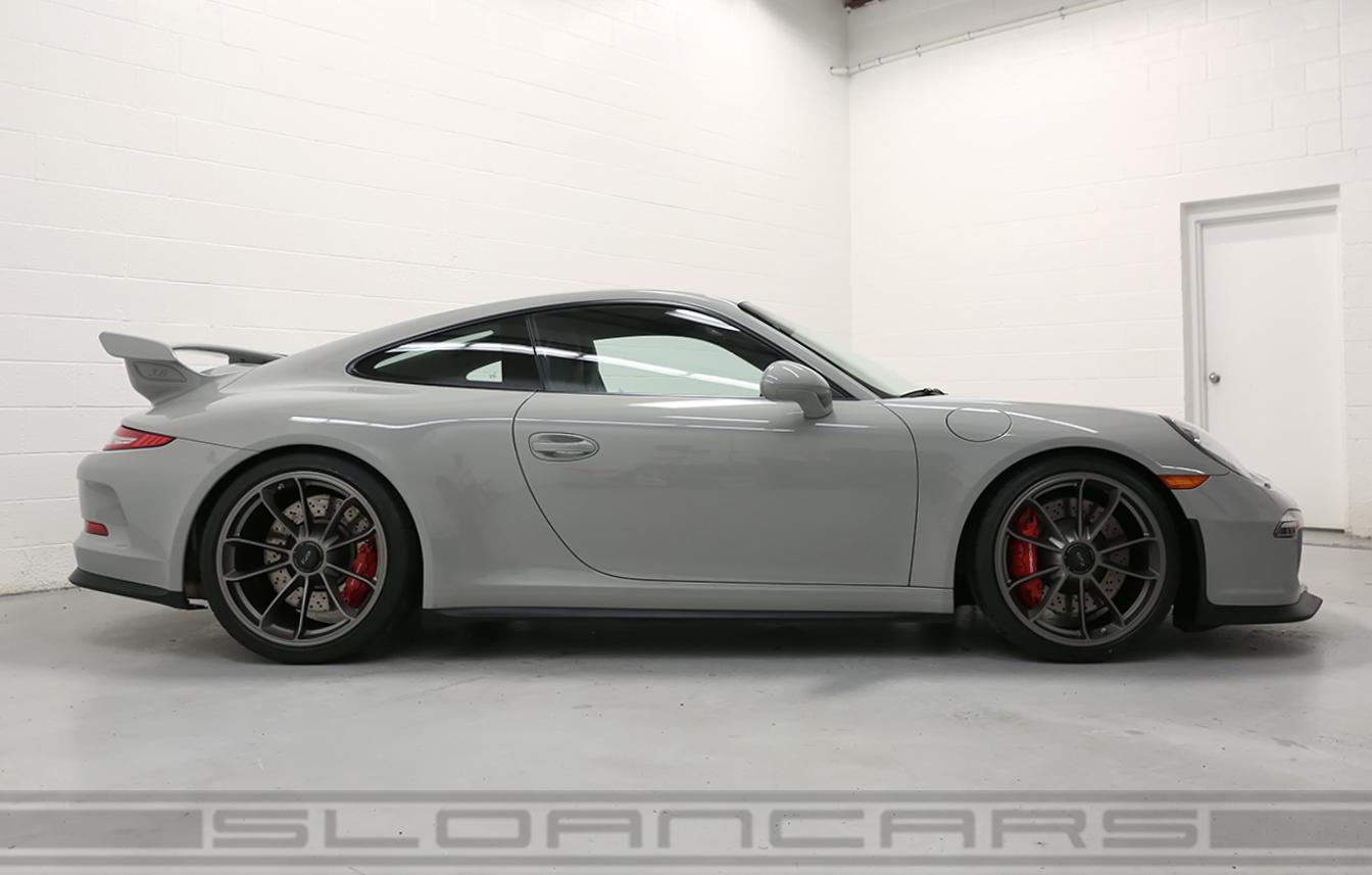 2015 Porsche 991 Gt3 Pts Fashion Gray Black 2 158 Miles