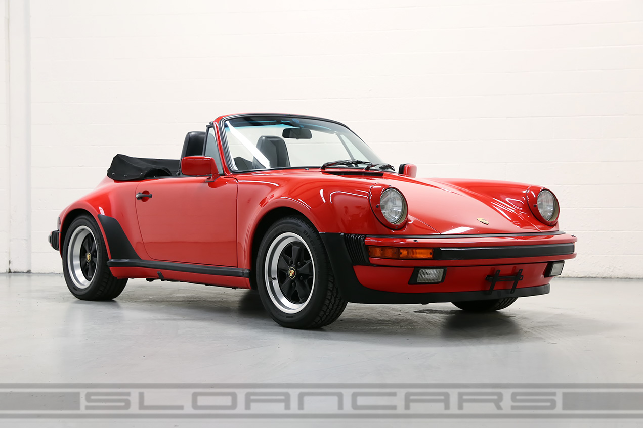 1985 porsche 911 factory turbo look cabriolet 50309 miles sloan 64900 vanachro Image collections